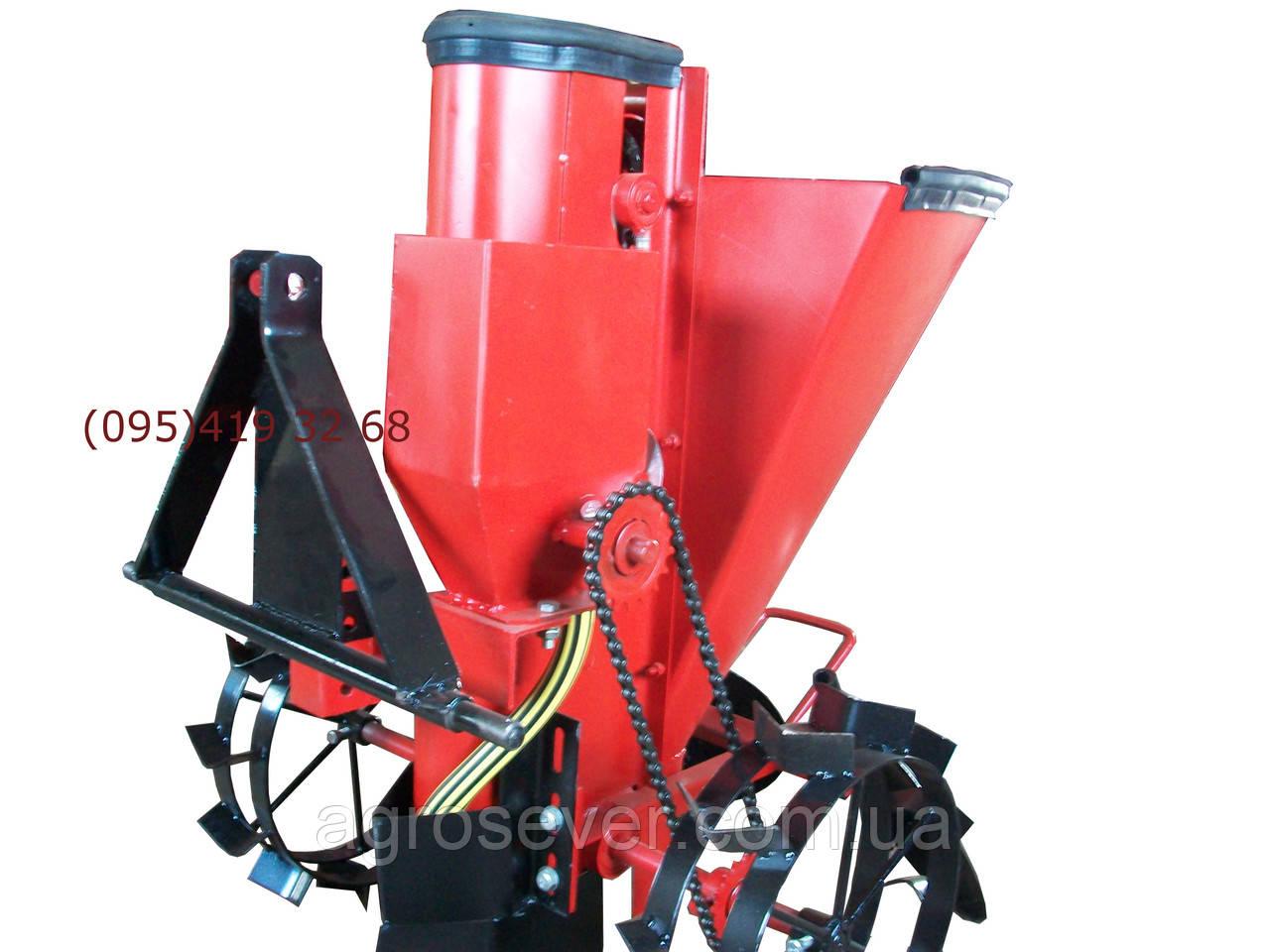 Картофелесажалка механизированная для минитрактора МТЗ 132