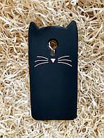 Силиконовый чехол Cat для Meizu M3, черный