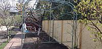 """Кованая арка для плетущихся растений """"Нивки"""""""