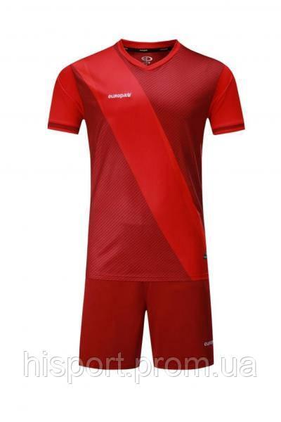 Игровая футбольная форма для команд красная 018 Europaw