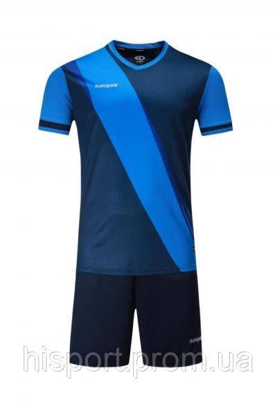 Игровая футбольная форма для команд т.сине-голубая 018 Europaw