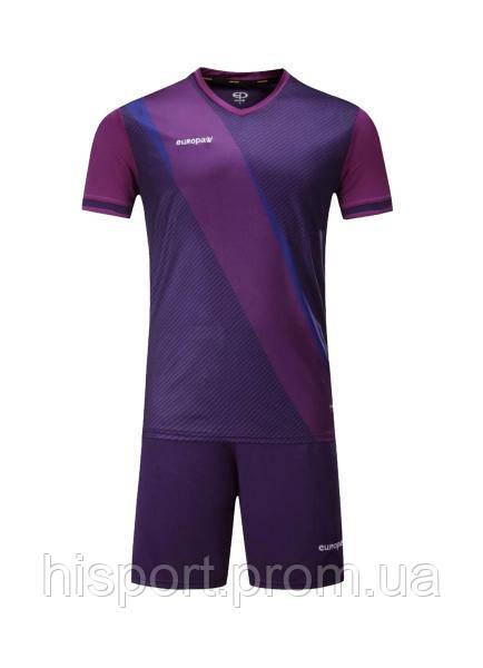 Игровая футбольная форма для команд фиолетовая 018 Europaw