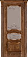 Двери Caro 50 TERMINUS Шпон Орех американский 60, 70, 80, 90 см