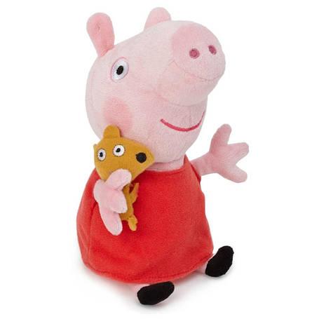 Мягкая игрушка Peppa  Пеппа с игрушкой, фото 2