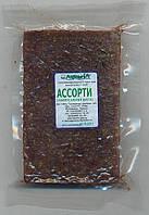 Замороженный корм для рыб Ассорти