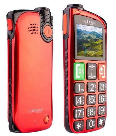 Sigma mobile Comfort 50 Light Dual Sim Red (4827798224335)