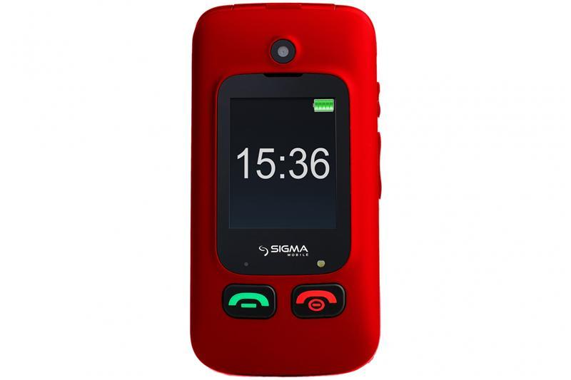 Sigma Mobile Comfort 50 Shell Dual Sim Red (4827798212325)