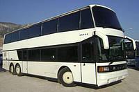 Лобовое стекло автобуса Setra S 228/328 DT верхнее, фото 1