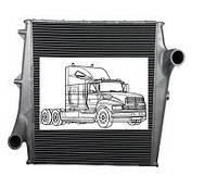 Интеркулера на грузовые автомобили