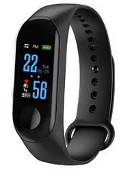 Фитнес-браслет Smart Watch M3 YW-18, черный
