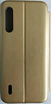 Чехол-книжка '' Classy & Level '' Xiaomi Mi A3 Lite / Mi9 Lite, Gold, фото 2