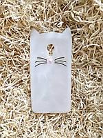 Силиконовый чехол Cat для Meizu M3, прозрачный с блестками