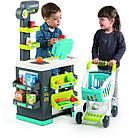 Дитячий інтерактивний супермаркет Smoby Toys City Market 3+ 350212 ігровий набір для дітей, фото 2