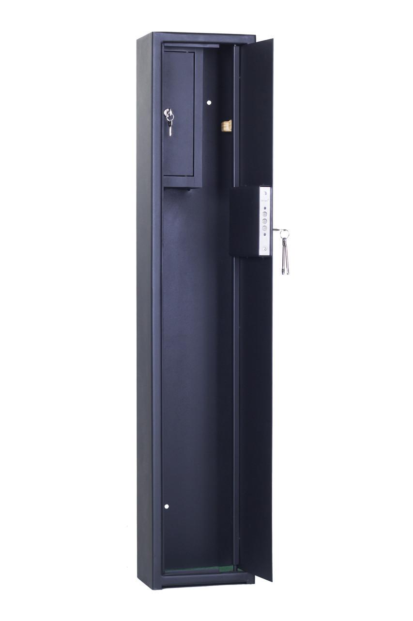 Сейфы для ружей для 1 ружья до 123см высотой, СО 1250 1Т