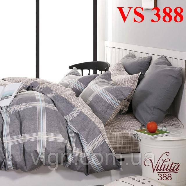 Постельное белье евро комплект, сатин, Вилюта «Viluta» VS 388