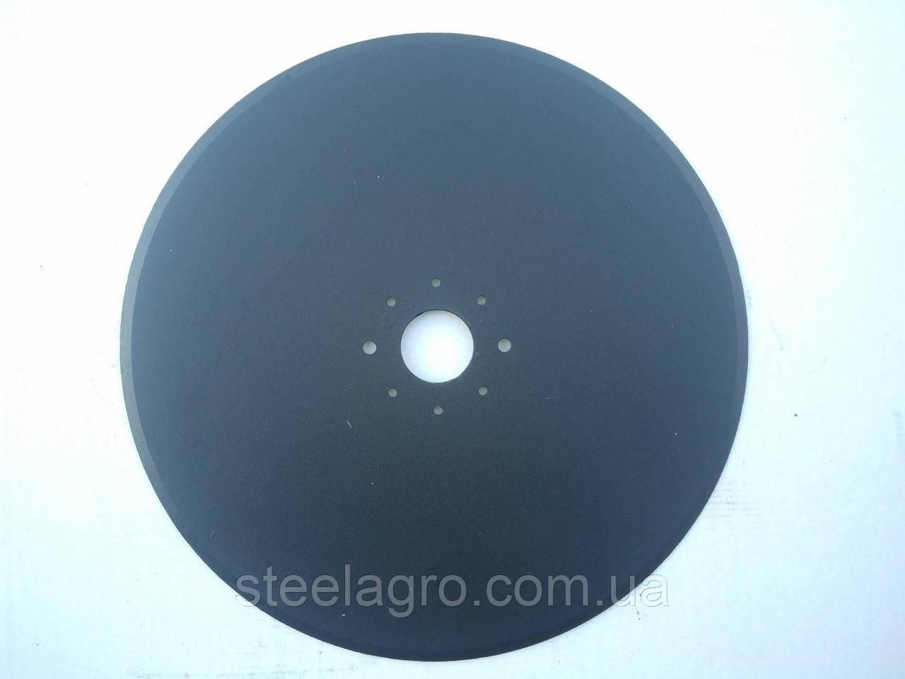 Диск сошника сівалки Horsch 343х3мм, ф40мм 6 отв. (00310106)