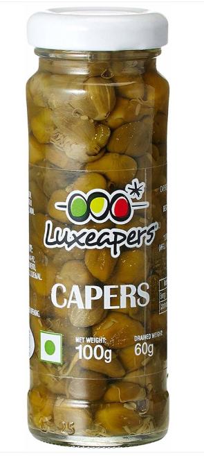 Каперси Luxeapers Kapary Capotes 100 g