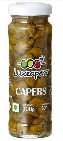 Каперси Luxeapers Kapary Capotes 100 g, фото 2
