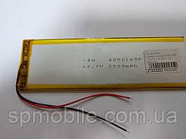 Акумулятор 4050145 для China (Li-ion 3.7 В 3500мА·год), 145*5*4 мм)