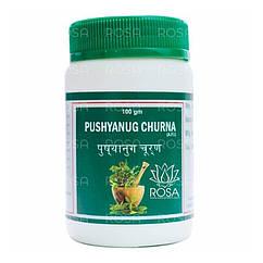 Пушьянуга Чурна (Pushyanug Churna, Punarvasu) менструальные расстройства и опухоли, 100 грамм