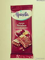 Шоколад молочный Alpinella Bakaliowa(орех с изюмом) Польша, 90г