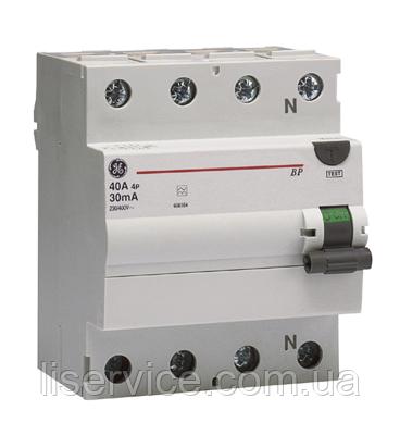 Пристрій зах. відкл. General Electric BPC440/030 4P, AC, фото 2