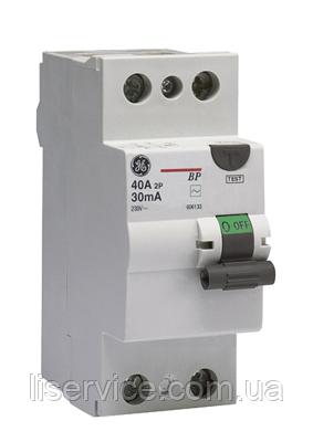 Пристрій зах. відкл. General Electric BDC240/030 2P, AC, фото 2