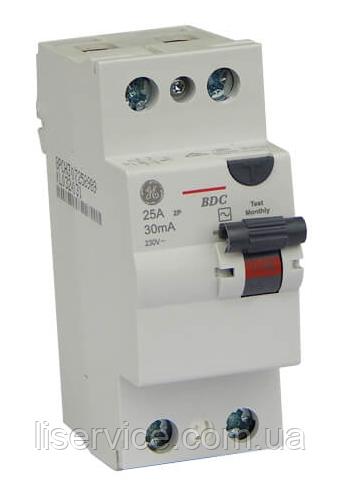 Пристрій зах. відкл. General Electric BDC225/030 2P, AC