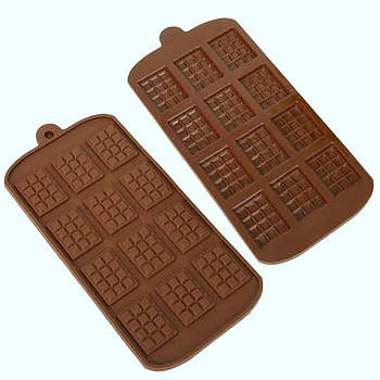 Силиконовая форма 21*10,5 см, Мини Шоколадки