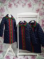 Куртка-пальто весна/осень для девочки ТМ Манифик