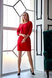 Сукня повсякденне 1231.1 колір червоний