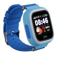 Детские умные часы Smart Baby Watch Q90 Голубой