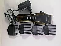Аккумуляторная машинка для стрижки животных с насадками