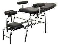 Педикюрное кресло мод. SPA-115, чёрное