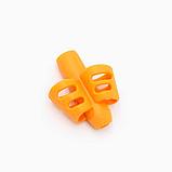 Силиконовая насадка на ручку, карандаш для коррекции письма 2Life Оранжевый (n-483), фото 2