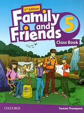Family and Friends 2nd (second) Edition 5 Class Book (учебник/підручник 2-е издание)