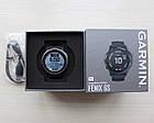 Смарт-годинник Garmin Fenix 6S Pro Black with Black Band з чорним ремінцем, фото 7