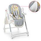 Детский складной стульчик для кормления El Camino ME 1037 CRYSTAL Banana Gray, фото 2