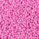 Чешский бисер Preciosa /10 для вышивания Бисер розовый 02192, фото 2