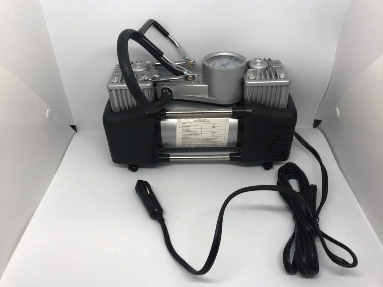 Автомобільний компресор DOUBLE BAR GAS PUMP 12 V, 200 PSI, 628-4*4