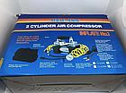 Автомобільний компресор DOUBLE BAR GAS PUMP 12 V, 200 PSI, 628-4*4, фото 3