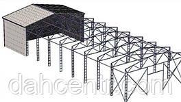 Ангар 16х42х6 склад, сто, ферми, цех, зерносховище, холодильники.