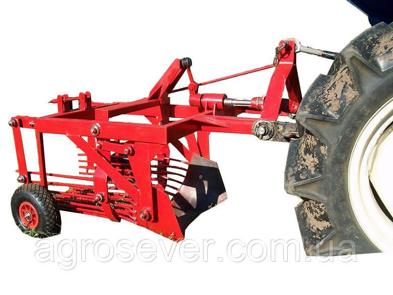 Картофелекопалка КТМ-1С для трактора смещенная