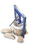 Пресс для сока 25л с домкратом, давление 5 тон, гидравлический. Для яблок, винограда, сыра и тд., фото 2