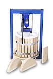 Пресс для сока 25л с домкратом, давление 5 тон, гидравлический. Для яблок, винограда, сыра и тд., фото 4