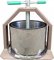 Ручной пресс для отжима сока 15 литров Лан