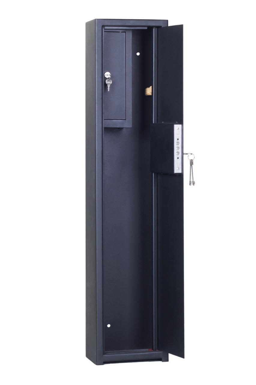 Оружейные сейфы СО 1100 1Т  для 1 ружья высотой до 108см