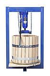 Пресс ручной для винограда 25л с домкратом, давление 5 тон., фото 2