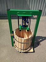 Пресс для сока ручной Вилен 25л с домкратом, давление 5 тон., фото 1