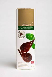 Шоколадные Чипсы Feinerlei со вкусом мяты. 125 г